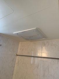 浴室乾燥機取替後