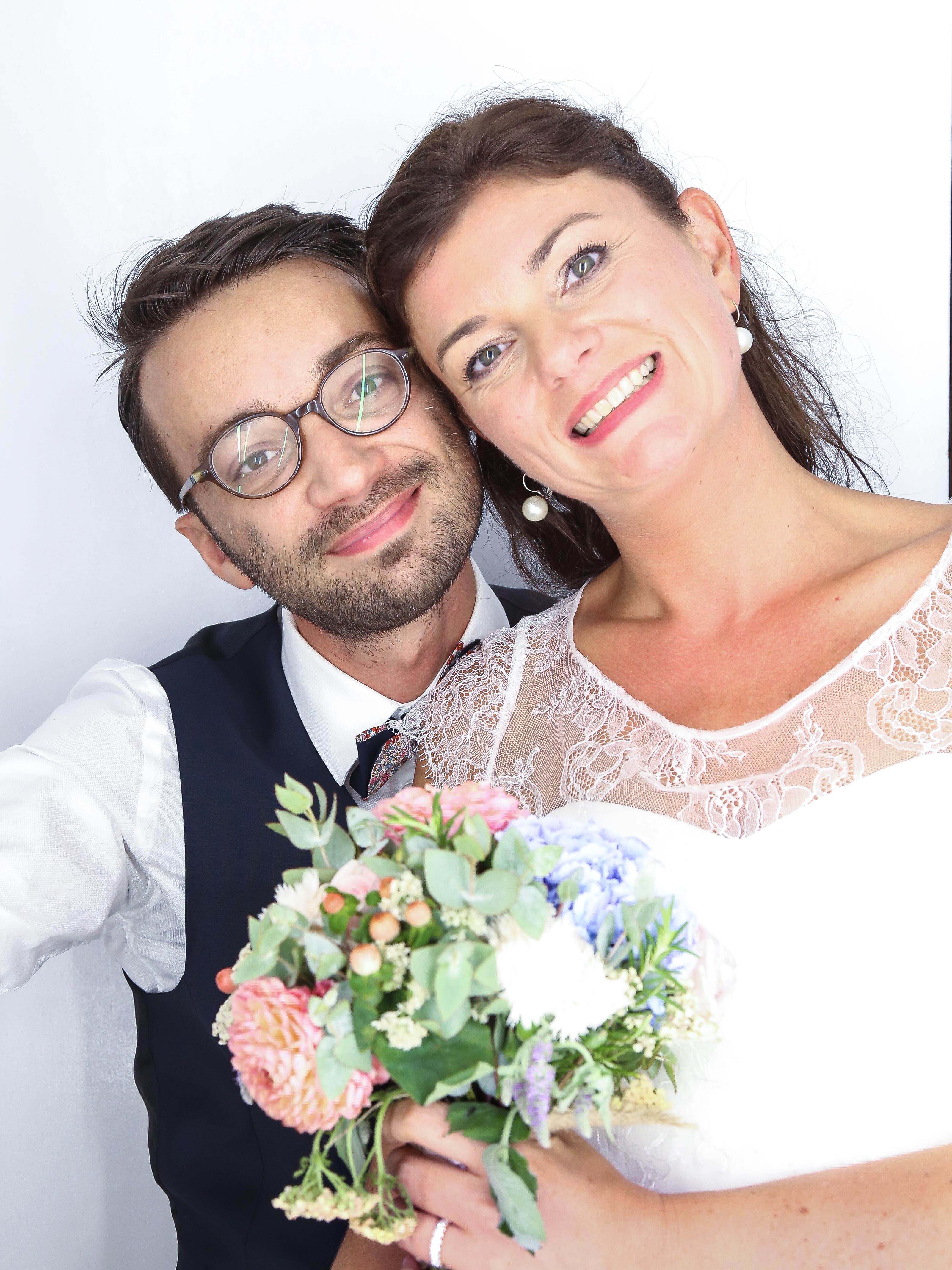 Mariage Nico & Virginie photomaton