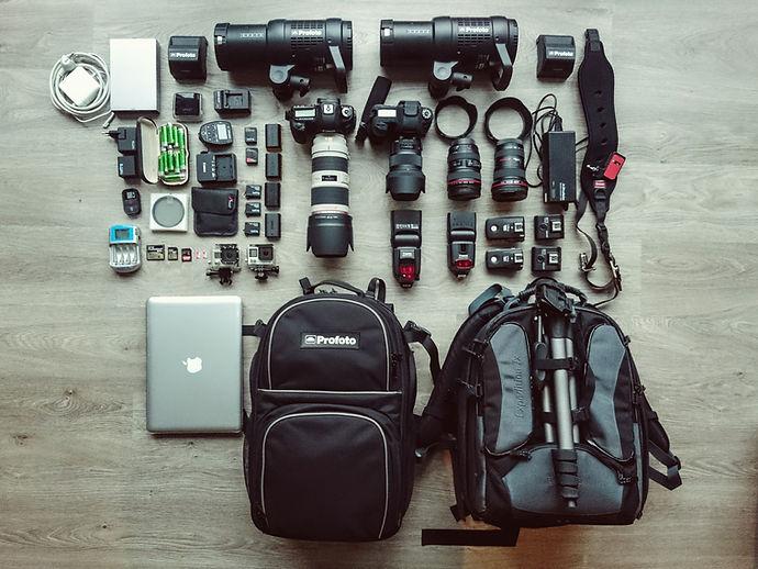 materiel de photographe