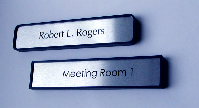 Metal. Co2 Laser Mark. Name Tags.