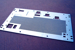 Metal Sheet panel Laser cut.