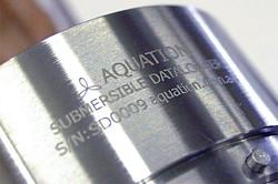 Stainless Steel. Laser Mark.