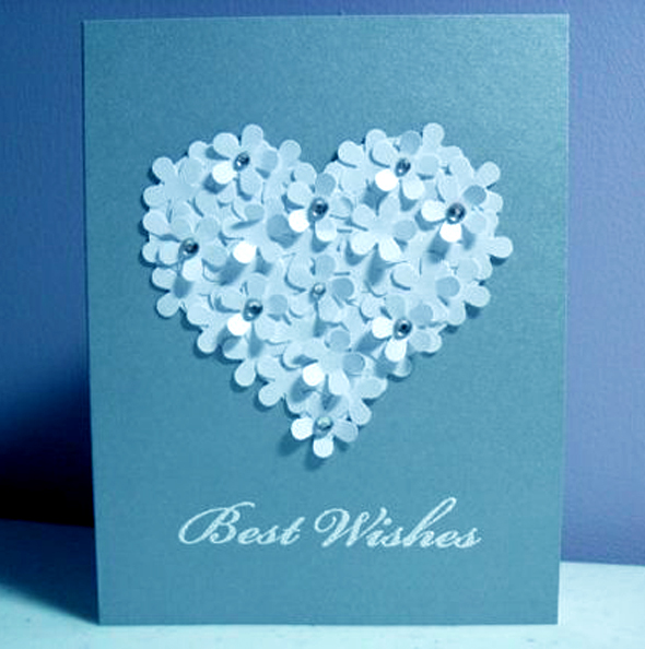 Greeting Card Paper Laser Cut.