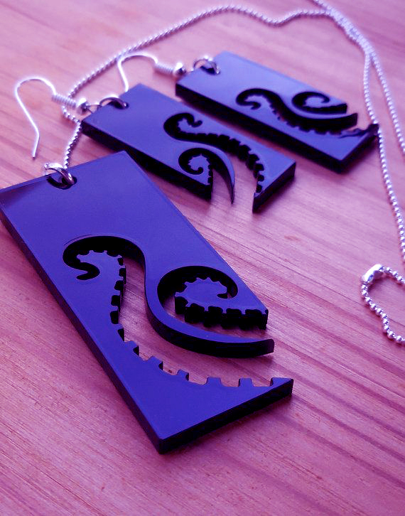 Necklace  Pendant Laser Cut
