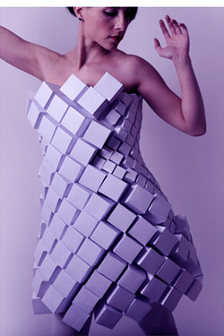 Laser Cut Fabric. Couture.