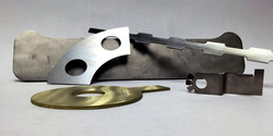 Metal cuts with Water jet machines