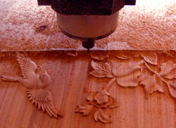 3D CNC Routing wood