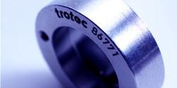 Metal. CO2 Laser Marking. Bearing