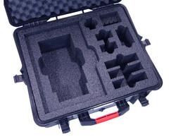 foam laser cut sample, packaging