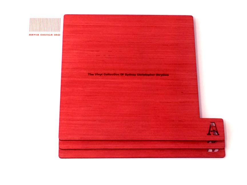 Vinyl Divider Plywood Laser Cut