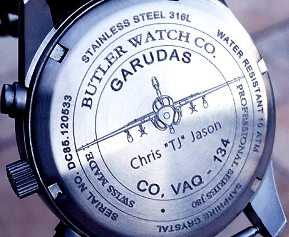 Fine Micro watch marking engraving