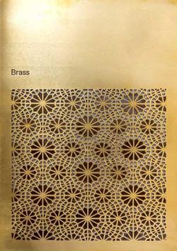Brass Laser cut
