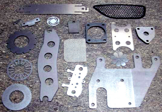 Industrial Parts Laser Cut