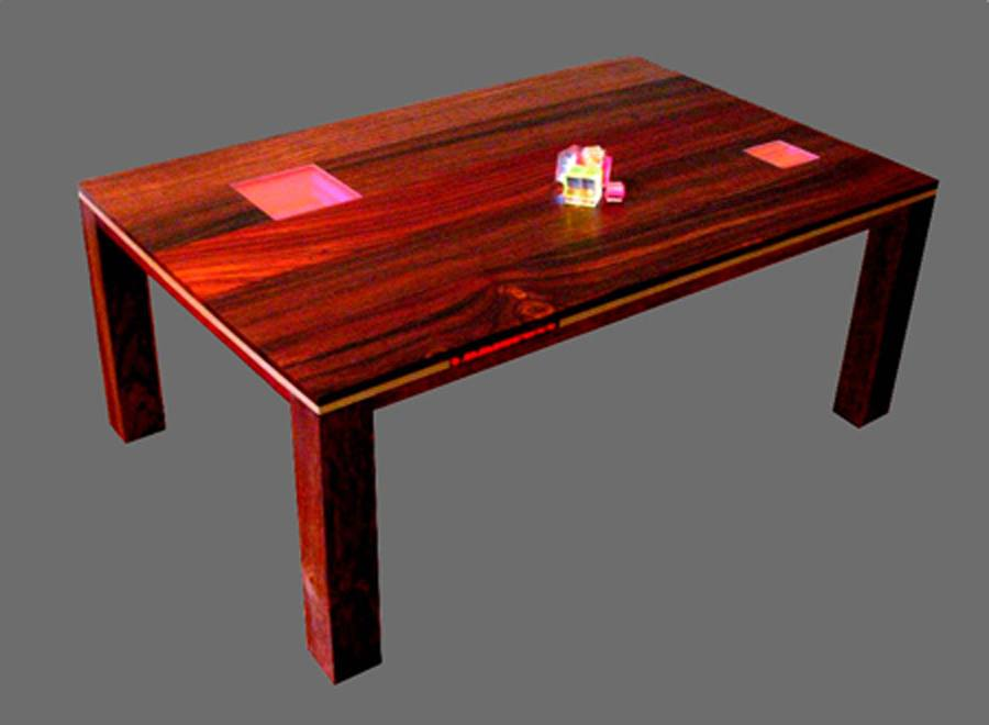 Coffe Table Exotic Wood