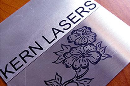 Metal. Co2 Laser Marking. Name plate