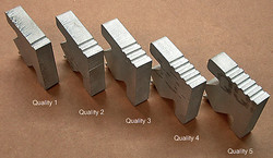 water jet quality rough to fine cut