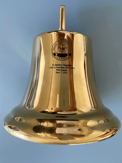 Micro Laser Engrave Brass Bell