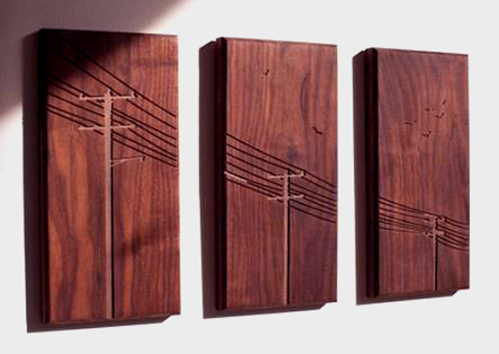 Wood. Laser Engrave. Artwork.