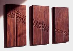 Solid Wood Laser Engraving Fine Art