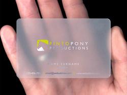 UV Prints on plastics - cards