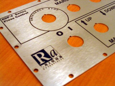Switch Board Metal laser marking cut