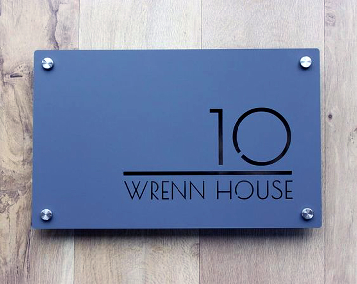 House Signage Commercial