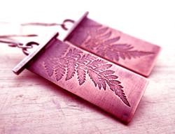 Micro laser engraving copper