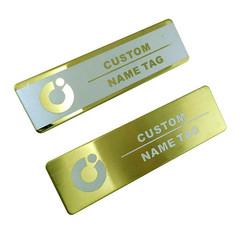 Custom Name plate Metalic