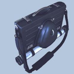 Vacuum form ABS plastic Briefcase