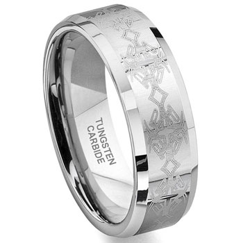 Metal Laser Engraving. Ring.
