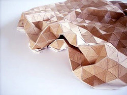 Veneer. Laser Cut. Sculpture.