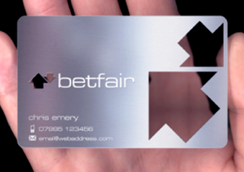 Uv print Metal business card