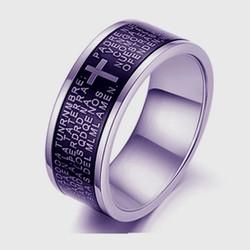 Blacken fiber laser etch ring sample