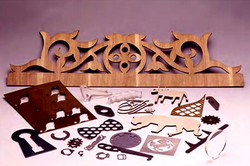Plywood laser cutting sample