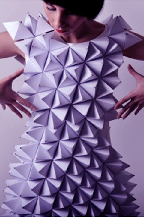 Fabric. Laser cut. Couture.