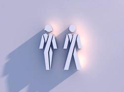 Rest Room Signage Designs