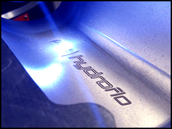 Metal. Fiber Laser Mark. Part.