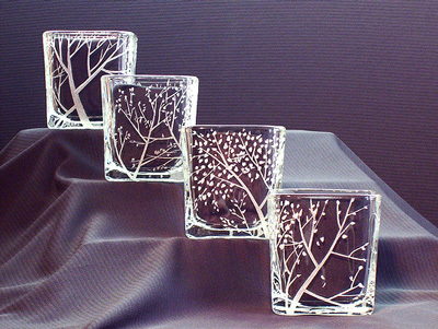 Retail Design Glass Etching