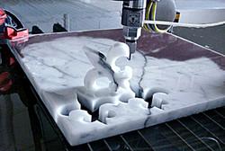 Water jet cutting Marble & Granite