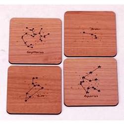 Laser Engraving Plywood Coasters