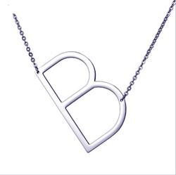 Silver Necklace pendant cuts