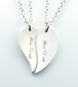 fiber laser cut and engrave silver