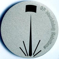 Metal laser engraving sample