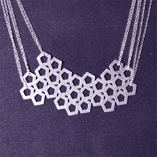 Geometric Jewelry Design Cuts