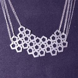 Geometric Jewelry Design Cuts