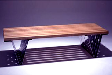 Metal laser cut table legs
