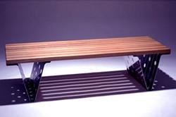 Metal laser cut table legs