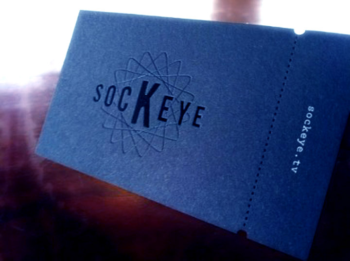 Custom Business Card Cut Engrave