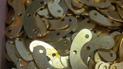 Brass. Laser cut. Parts.