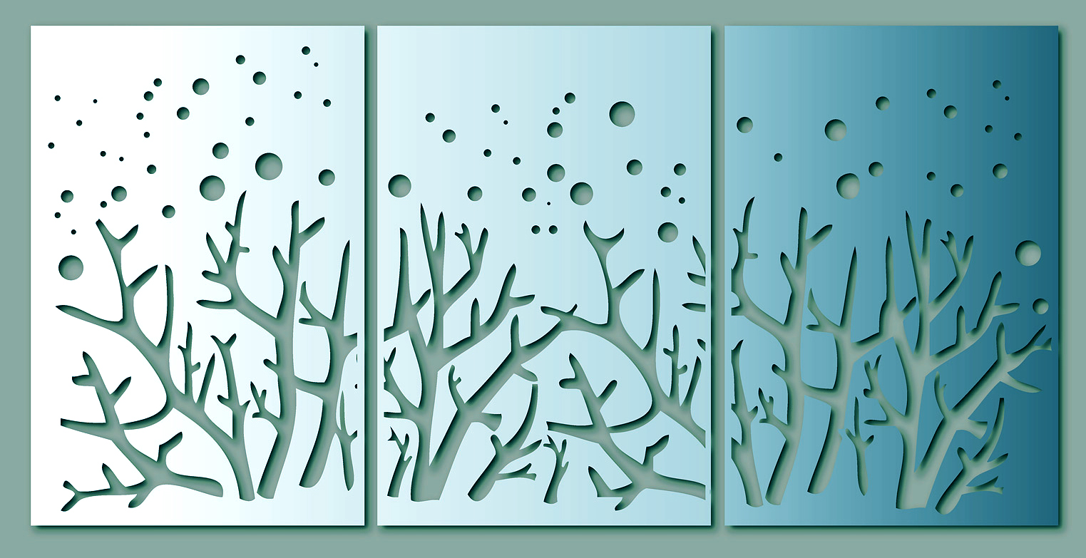 Stainless Steel  Wall Art